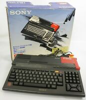 MSX2 SONY HB-F1 XD Home Computer Boxed Tested HIT BIT JAPAN Game 224219