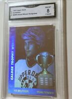 1991 Upper Deck # AW4 Ed Belfour Award Winner Holograms NHL GMA NM-MT 8