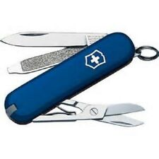 SWISS ARMY VICTORINOX BLUE CLASSIC SD Pocket Knife TOOL BLADE SCOUT