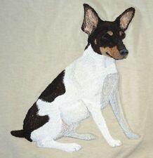 Embroidered Fleece Jacket - Toy Fox Terrier C5084 Sizes S - Xxl