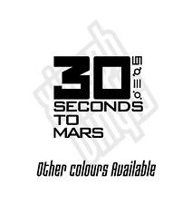 30 Seconds To Mars Jared Leto pegatina de vinilo calcomanía Piel Laptop Mac coche ventana Cd