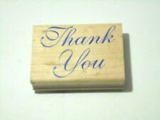 Thank You StampCraft Rubber Stamp Crafts