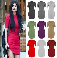 Unbranded Viscose Polo Neck/Roll Neck Dresses for Women