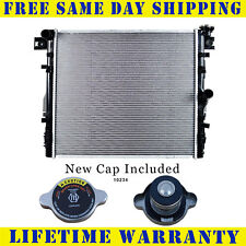 Radiator With Cap For Jeep Fits Wrangler 3.6 3.8 V6 6Cyl 2957WC