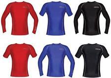 Boys Girls Mens Ladies Rashie Rash Vest Swim Shirts Top Guards Swimwear Clothing