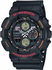 GA-140-1A4 - Casio G-SHOCK, черный циферблат смолы мужские часы