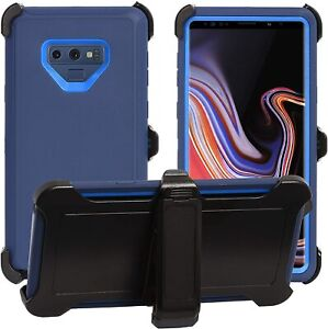 Heavy Duty Defender Case For Samsung Galaxy Note 9  with Belt Clip