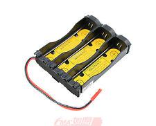 A 3.6V 3.7V Battery 1S3P Holder Case 18650 17670 Li-ion w/Pcm in output:3-4.2V