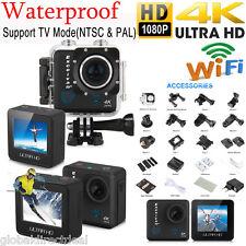 Ultra HD 4K 16MP DV Cámara Deportiva 1080P WIFI Acción Video Cámara Impermeable