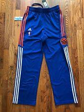 2010 Vintage Adidas On Court New York Knicks On Court Warmup Pant Sz Medium