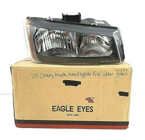 Eagle Eyes Headlight Front Right Lamp for 05-07 Chevy Silverado (Classic) Pickup