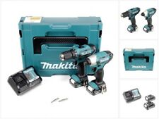 Makita CLX 201 AJ Akku Schlag Bohrschrauber DF331D + TD110D + Lader + 2x Akku