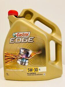 Original CASTROL EDGE SAE 5W-30 LL TITANIUM FST 5l 5 Liter Motoröl Öl 15669E