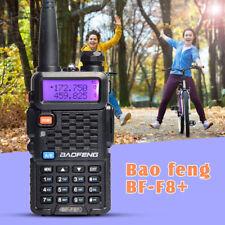 Baofeng F8+ Walkie Talkie Dual Band UHF VHF con auricular 128 canal 5W FM Radio