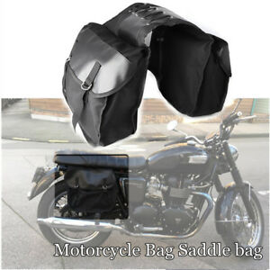 Motorcycle Bike Rear Tail Bags Equine Back Pack Mortorbike Saddle Bags For Haley