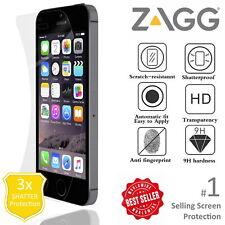 Zagg iPhone 5 5S 5C SE InvisibleSHIELD Protector De Pantalla Grado Militar
