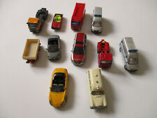 SIKU Mercedes, Porsche u.a., Konvolut, 11 Modelle !!!