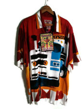 Mambo Loud Men's Large Shirt - Big Truck Design - Robert Moore - 100% Rayon