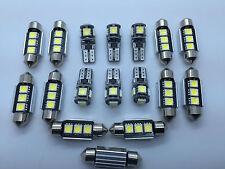 MERCEDES W164 ML + AMG FULL LED INTERNI LUCI KIT SET 17 PZ LAMPADINE BIANCO GR