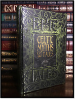 Celtic Myths & Tales New Deluxe Hardcover Mythology Mabinogion Fairies Ghosts ++