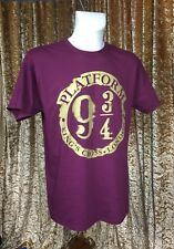 Harry Potter Distressed Platform 9 3/4 T-Shirt Size Small