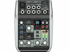 BEHRINGER Q502USB MIXER 5 INGRESSI CON USB SENZA EFFETTI PER VOCE
