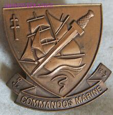 IN14259 - Commandos Marine, insigne de béret, 34 mm, (ATP)