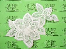 Sommerblüten Aufnäher Aufbügler Applikation Motiv Patch Stickerei