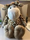 Babies R Us 24 Inch Large Giraffe Geoffrey Sitting Plush Toys R Us 2012 Stuffed
