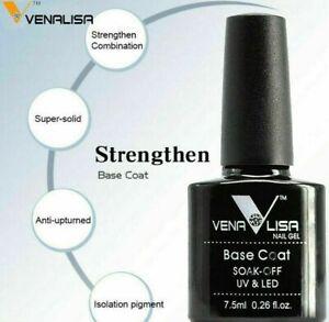 VENALISA Base Coat  UV LED Nail Gel Polish  More