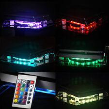 Multicolor Playstation 4 PS4 PRO SLIM RGB LED Design Kühler Lüfter Ständer Stand