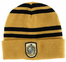 New Harry Potter Hufflepuff  House Cosplay Costume Winter Warmth Beanie Hat