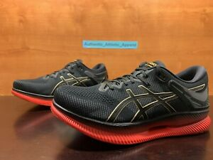Asics MetaRide Women's Size 9 Black Red Gold Running Trainers Sneakers MSRP $250