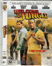 Welcome To The Jungle-2003-Dwayne Johnson The Rock-Collector's Edition-Movie-DVD