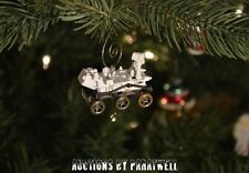 Custom Mars Rover Curiosity Christmas Ornament 1/64th Scale Adorno Space NASA