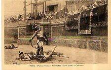 ROMA  pollice verso anfiteatro flavio detto il colosseo