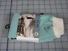 nordic gear fleece sock pair walking hunting camping blue white x-small new
