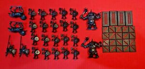 Battle Masters Board game 24 Miniatures Lord Ogre Bone Breaker Beastmen Figures