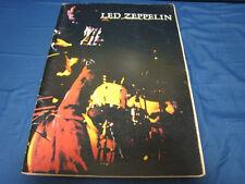 Led Zeppelin 1972 Japan Tour Book Concert Program Jimmy Page Robert Plant