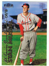 1999 Fleer #6 Stan Musial,of-1b,St.Louis Cardinals,Hall of Fame,NM-MT condition