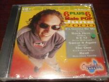 CHARTBUSTER 6+6 KARAOKE DISC 40064 JUNE 2000 MALE POP CD+G MULTIPLEX