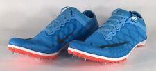 Nike Zoom Mamba 3 Olympic Track Running Spikes Blue Crimson 706617-446 Sz 11