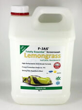Lemongrass Natural Scented Screen Wash 5L Readymix + Rain Repellent F-JAS