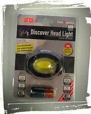 Torcia da Testa Led 120Lumen 3 Livelli di illuminazione-CFG Discover Head Light