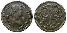CARLOS IIII. 2 MARAVEDIS. 1801. SEGOVIA.