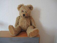 """Stofftier -- Antiker Teddy Teddybär """" Diem """" Höhe ca. 40cm -- Selten !!!"""