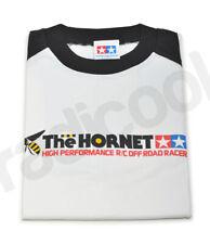 66833 New Tamiya The Hornet White Long Sleeve T-shirt Black Sleeves Size Large