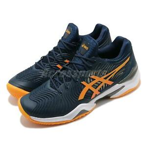 Asics Court FF 2 Novak Djokovic Australian Open Blue Navy Men Tennis 1041A083402