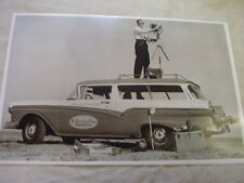 1957 FORD STATION WAGON ST PETERSBURG FLA TIMES PHOTO CAR 11 X 17 PHOTO  PICTURE