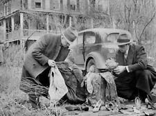 Stampa incorniciata-Serial Killer Albert FISH Scena del crimine 1934 (omicidio PHOTO FOTO)